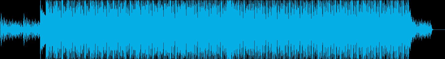 EDM系BGM(ブレイクなし)の再生済みの波形