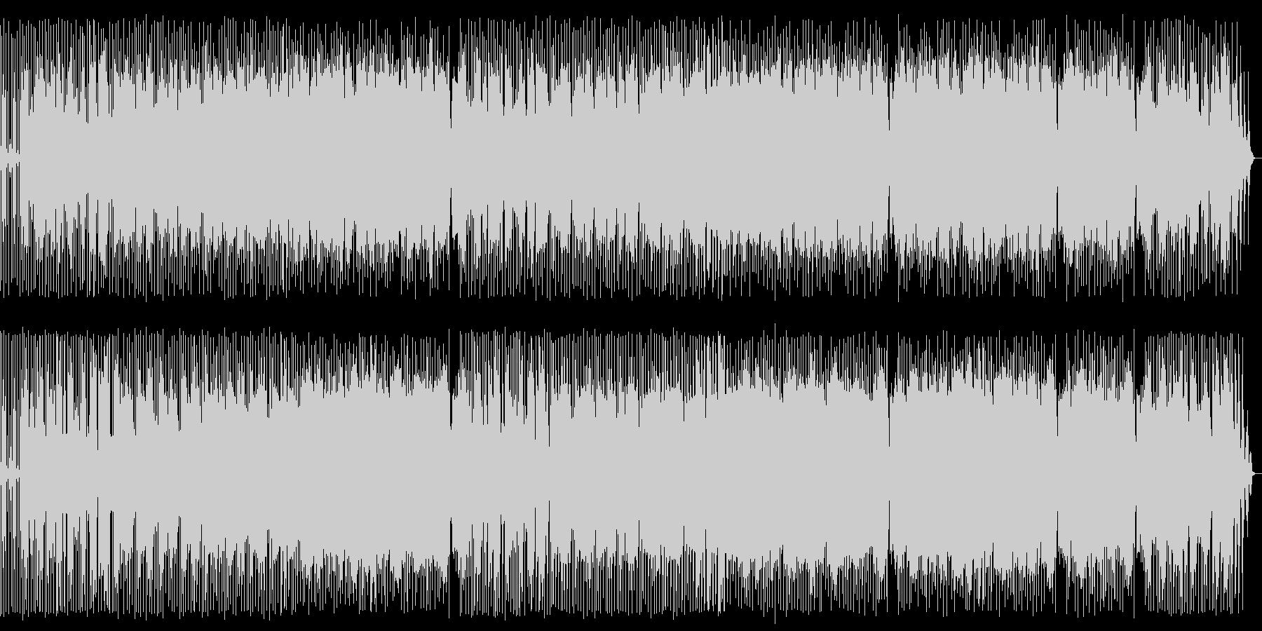 琴が印象的な英語のオリエンタルポップスの未再生の波形