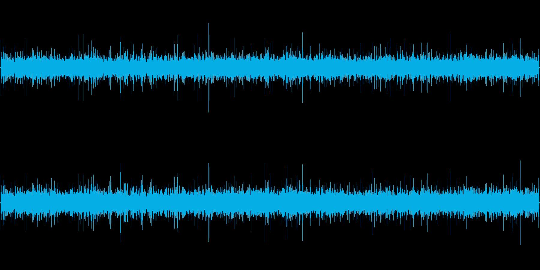 川のせせらぎ(小川、下流)の再生済みの波形