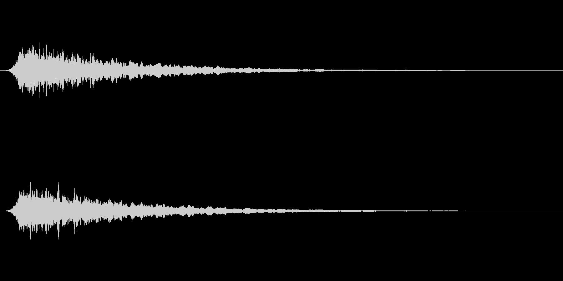 汎用サイレン かなり短めの未再生の波形