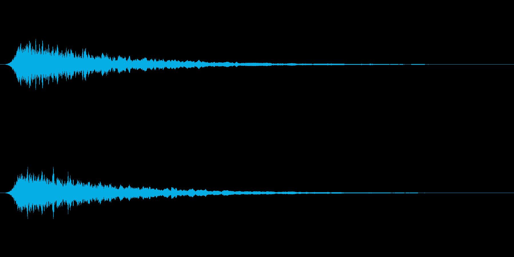 汎用サイレン かなり短めの再生済みの波形