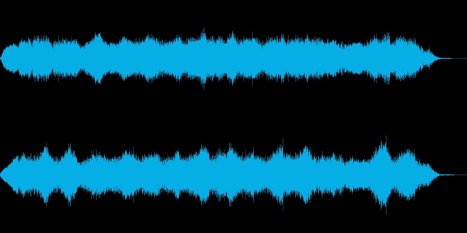 ハイブランドのコンセプトムービーに変身の再生済みの波形
