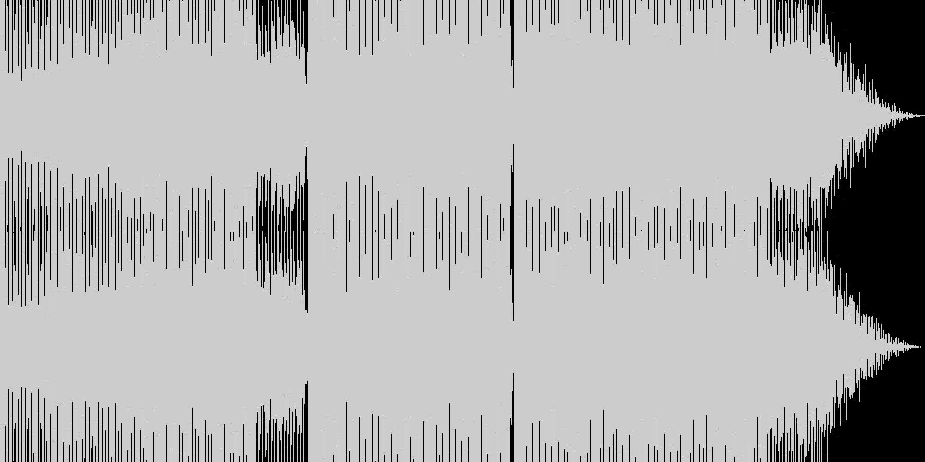 明るいダンス用BGM4の未再生の波形