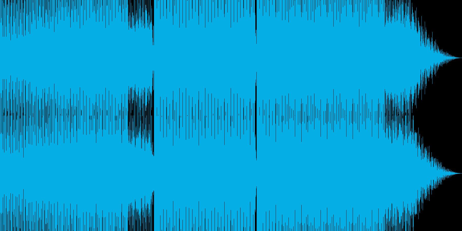 明るいダンス用BGM4の再生済みの波形