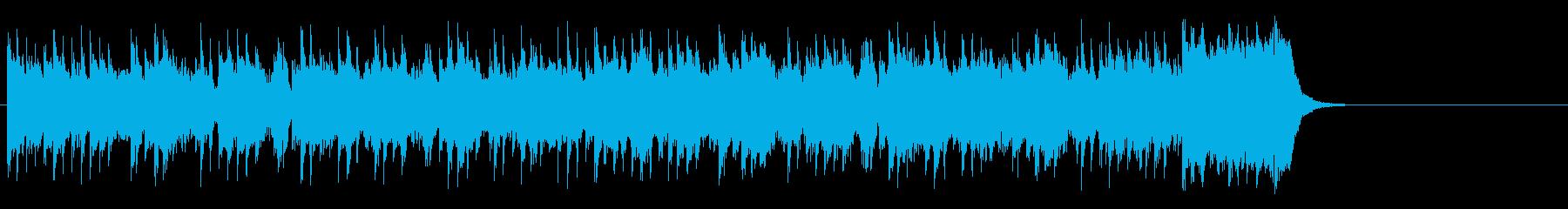 テーマパーク向けポップ(サビ~エンド)の再生済みの波形