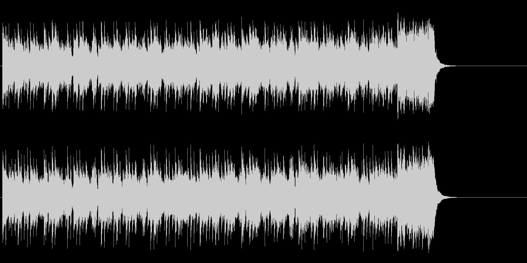 テーマパーク向けポップ(サビ~エンド)の未再生の波形