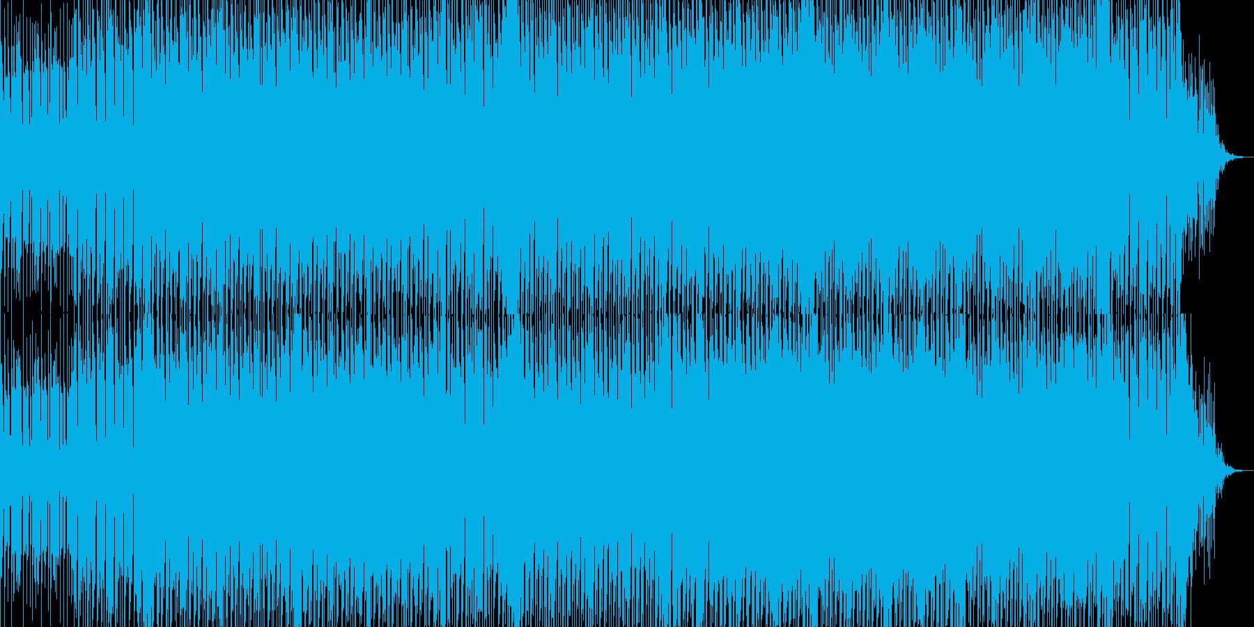 リズムが印象的なエレクトロテクノの再生済みの波形