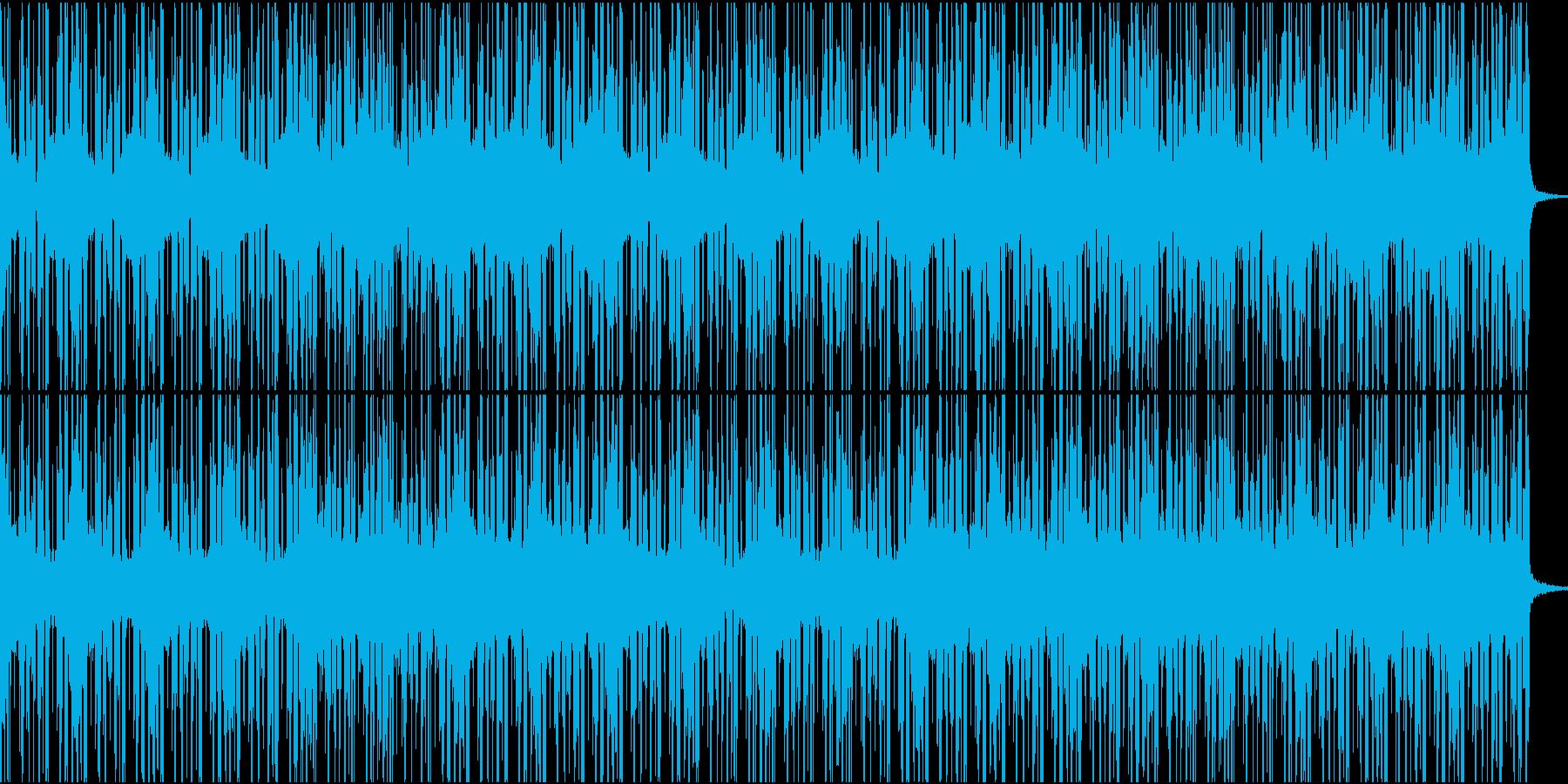 レトロな雰囲気のチルウェイブの再生済みの波形