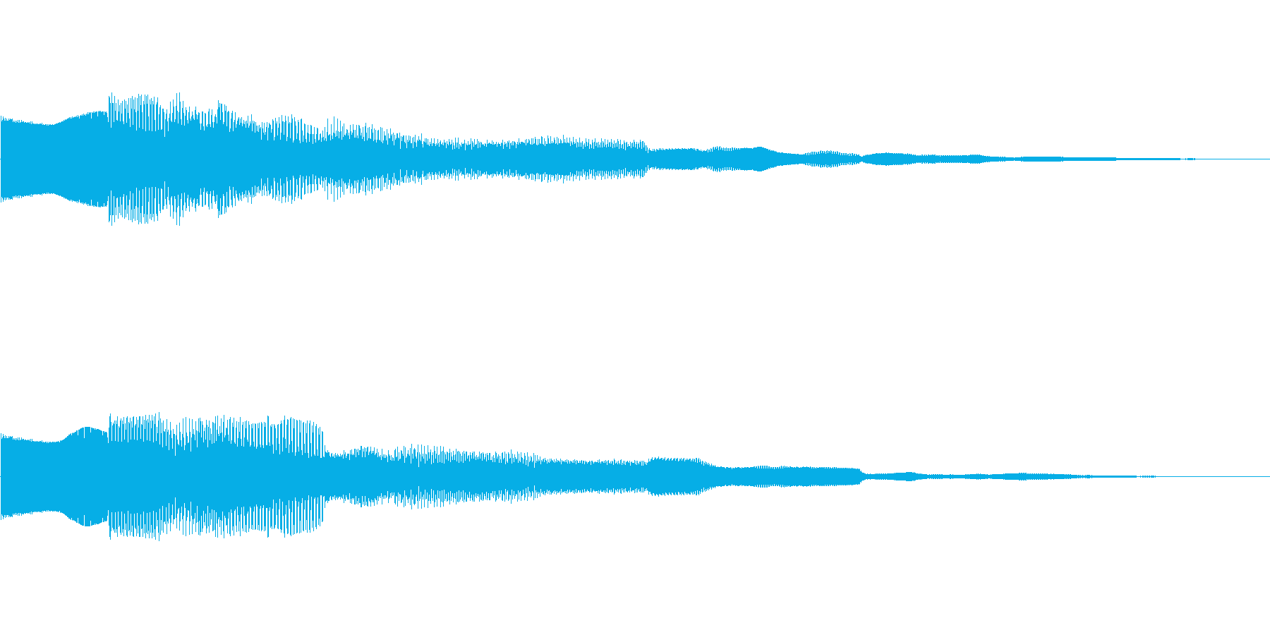 ピンポーン!!クイズ正解OKピンポン01の再生済みの波形
