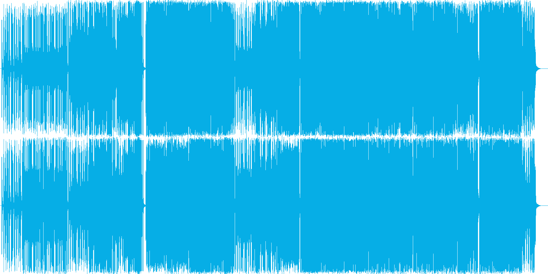 フュージョンです。スモーキーで大人の渋…の再生済みの波形