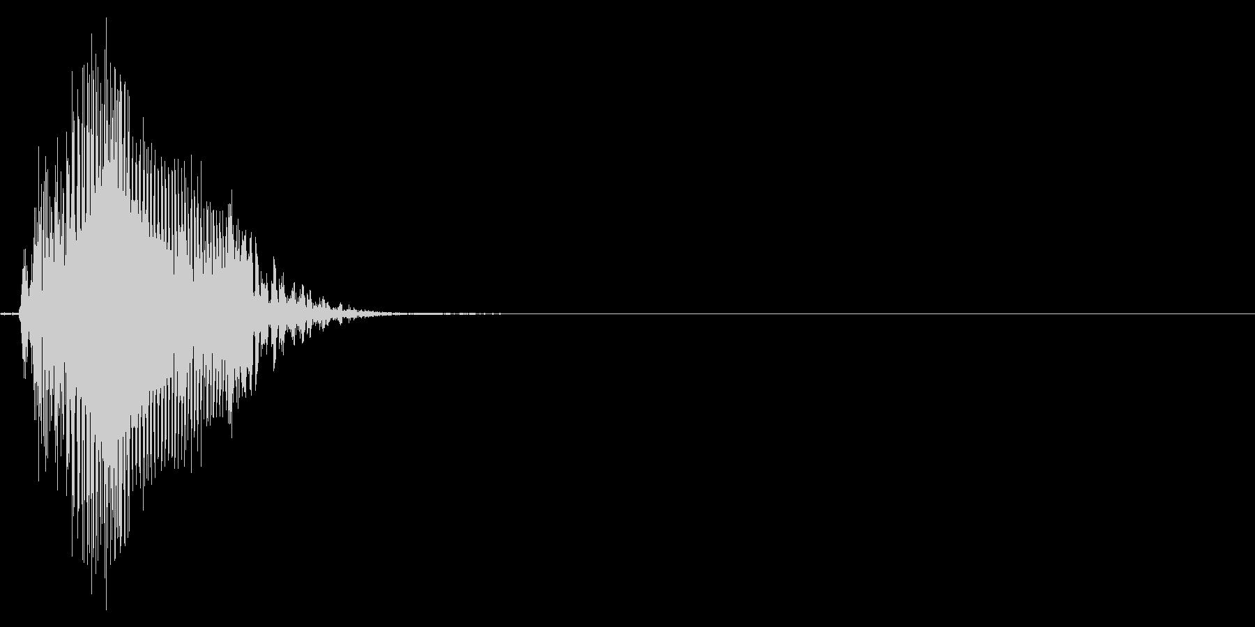 ゲーム掛け声男3エッ1の未再生の波形