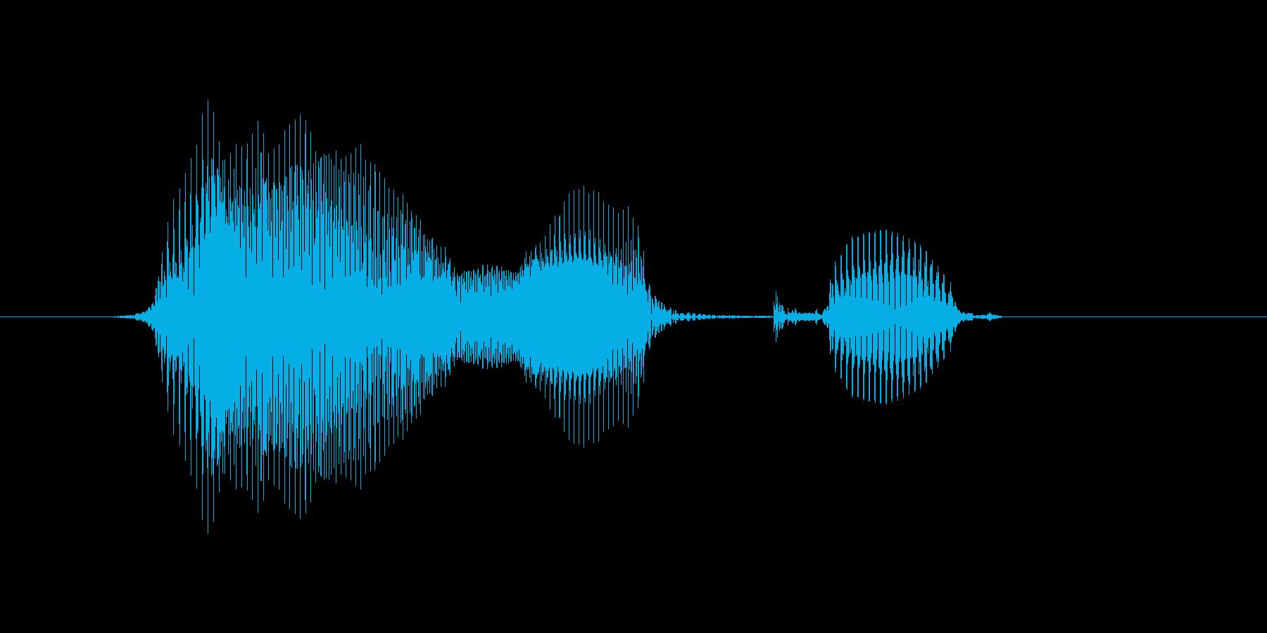 洋楽の再生済みの波形