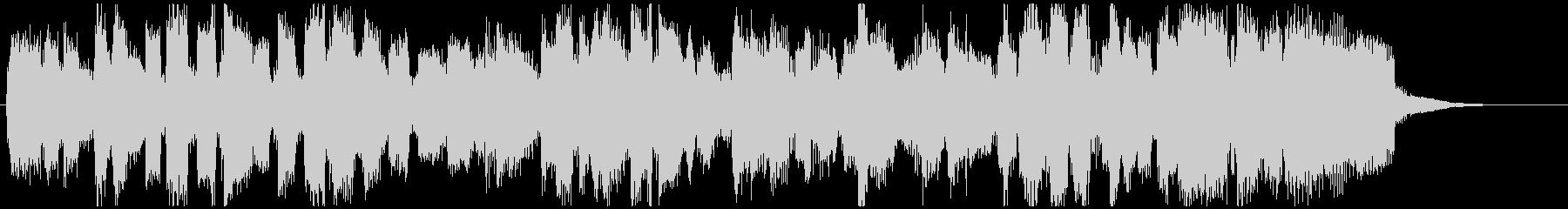 柔らかい高音サックスジャズ15秒ジングルの未再生の波形