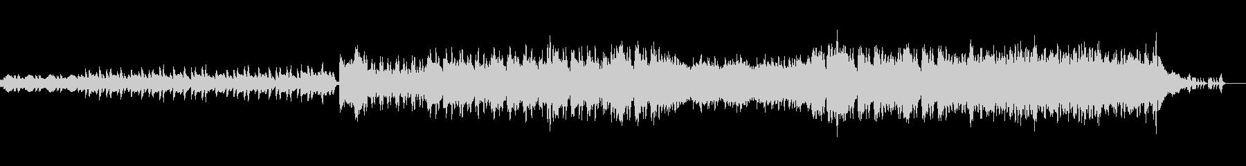 前にむかう力強いオケ風曲の未再生の波形