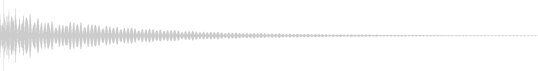 DTM Tom 37 オリジナル音源の未再生の波形