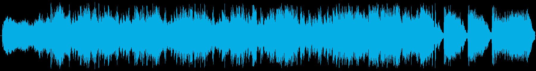 かっこいいゲーム戦闘シーン ループの再生済みの波形