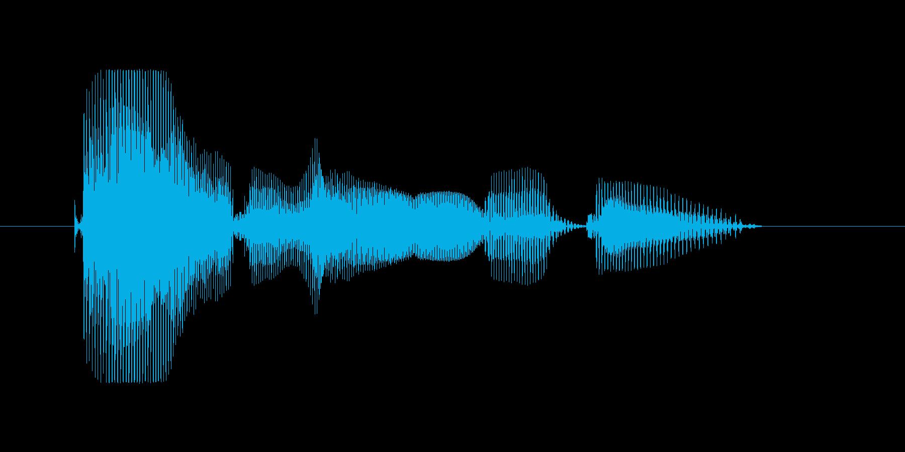 R&B(アールアンドビー)の再生済みの波形