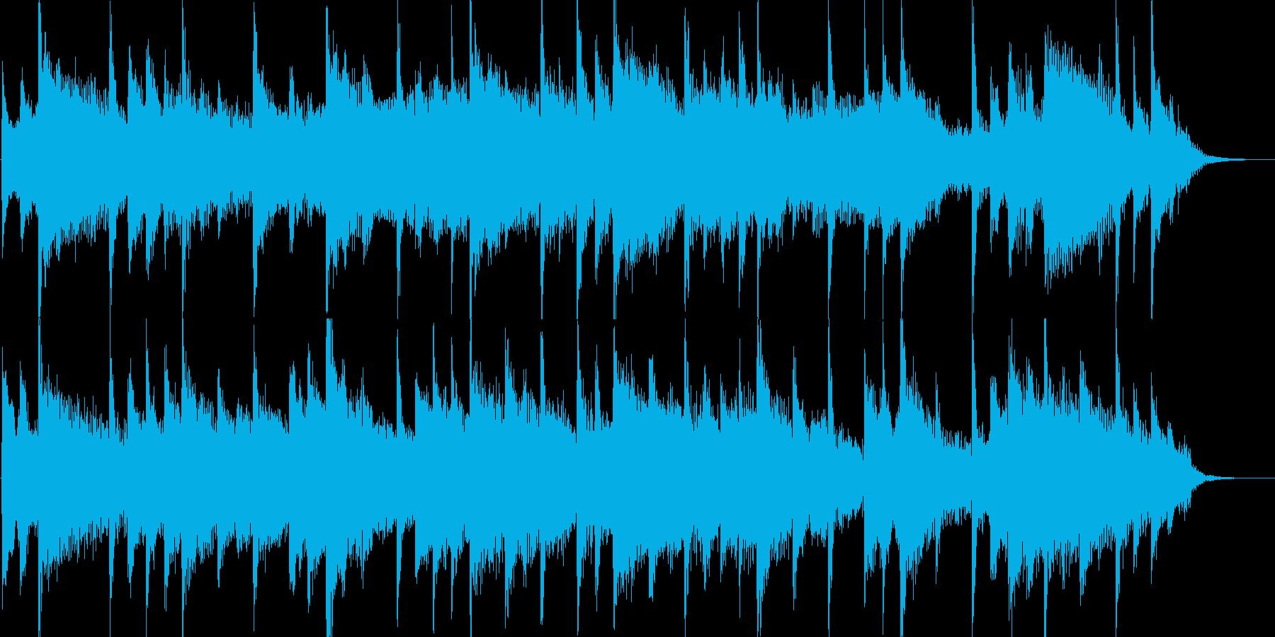 しっとりした雰囲気のバラードジングルの再生済みの波形