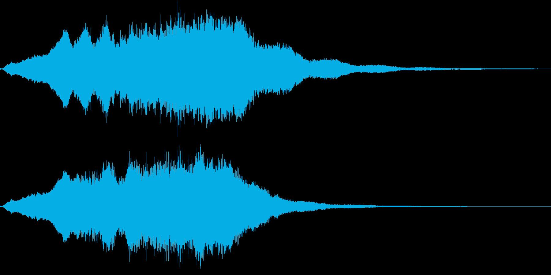 生演奏:高音で重なる美しいヴァイオリンの再生済みの波形