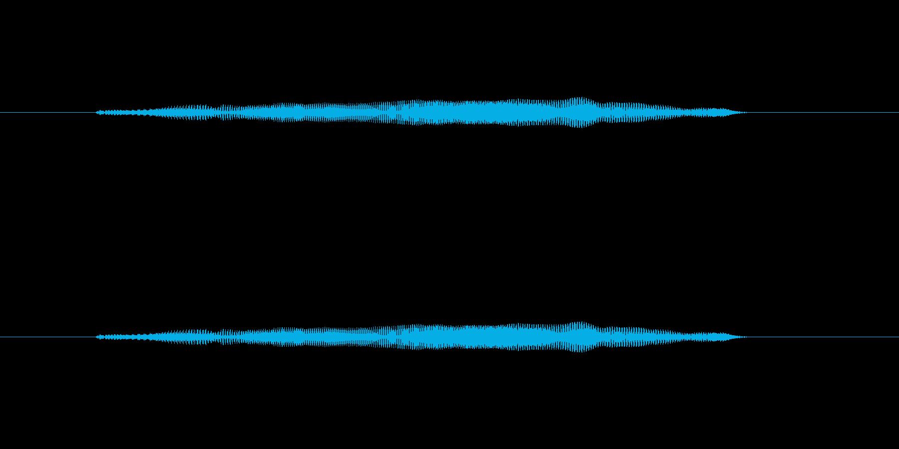 ニャー_猫声-06の再生済みの波形