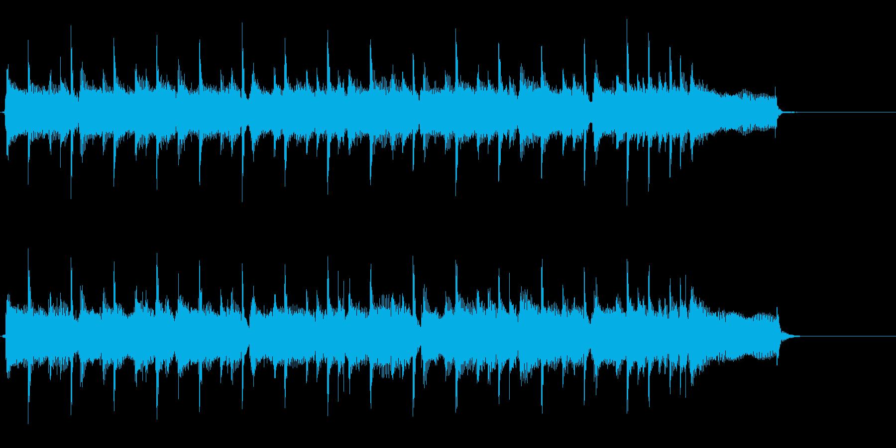 主張しすぎないロック系ジングル・キーEの再生済みの波形