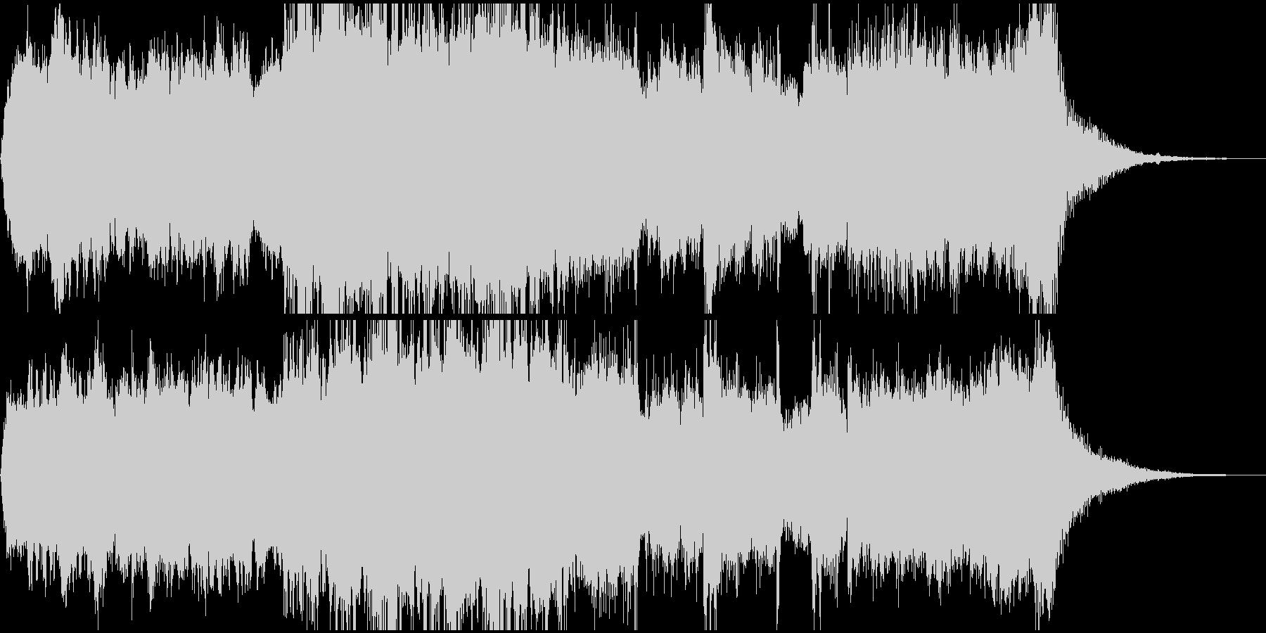 物語のはじまり的なBGMの未再生の波形