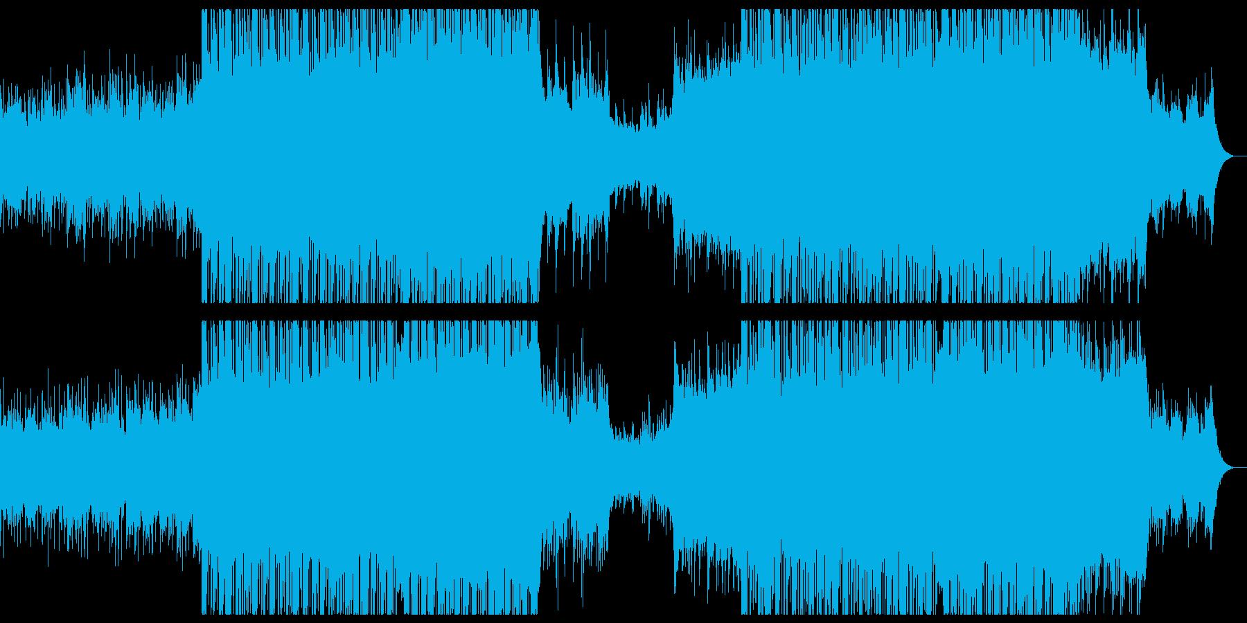切ない感動的なエレクトロニカ。の再生済みの波形