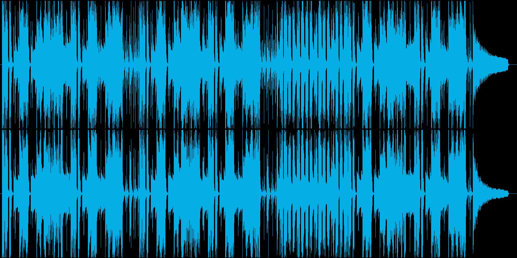 アニメ CM ほのぼの まったりの再生済みの波形