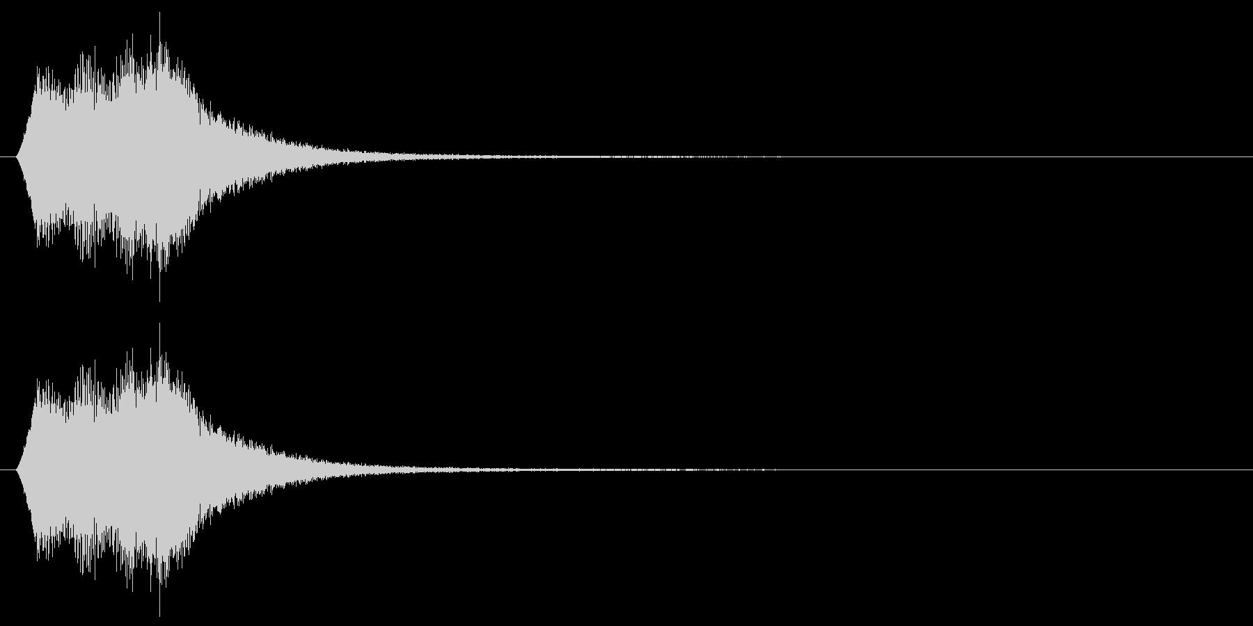場面転換/ワープ/転送装置の未再生の波形