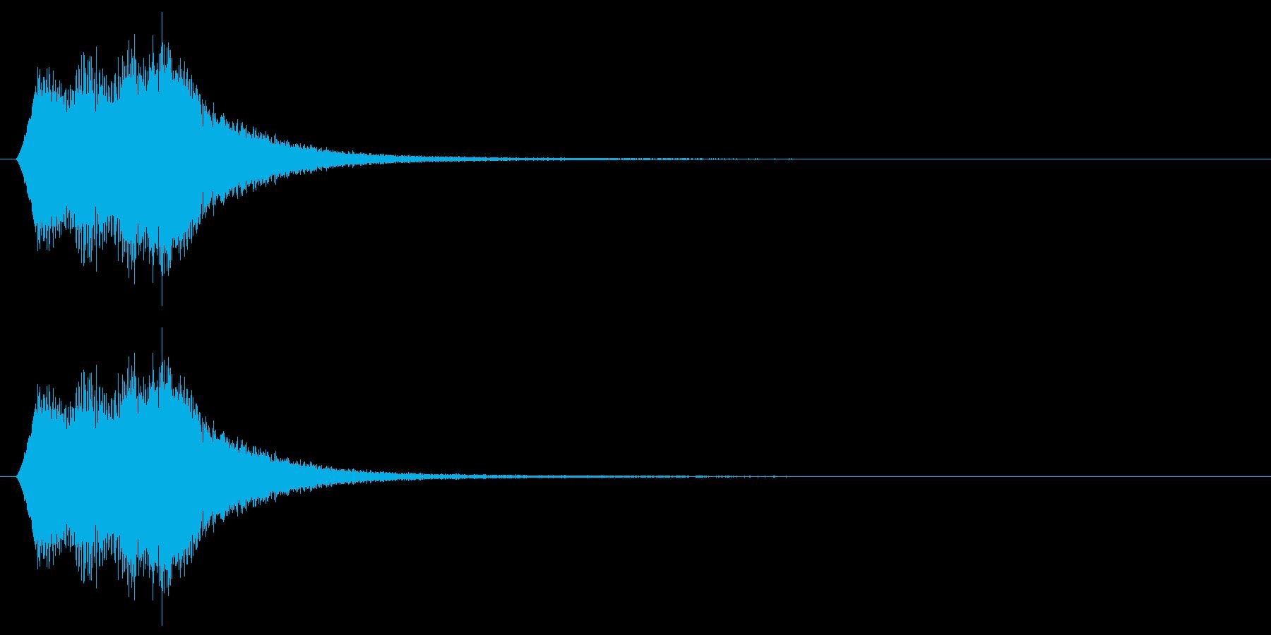 場面転換/ワープ/転送装置の再生済みの波形