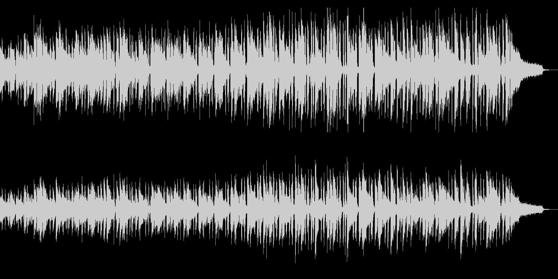 アップテンポで切ない系ファンクピアノソロの未再生の波形