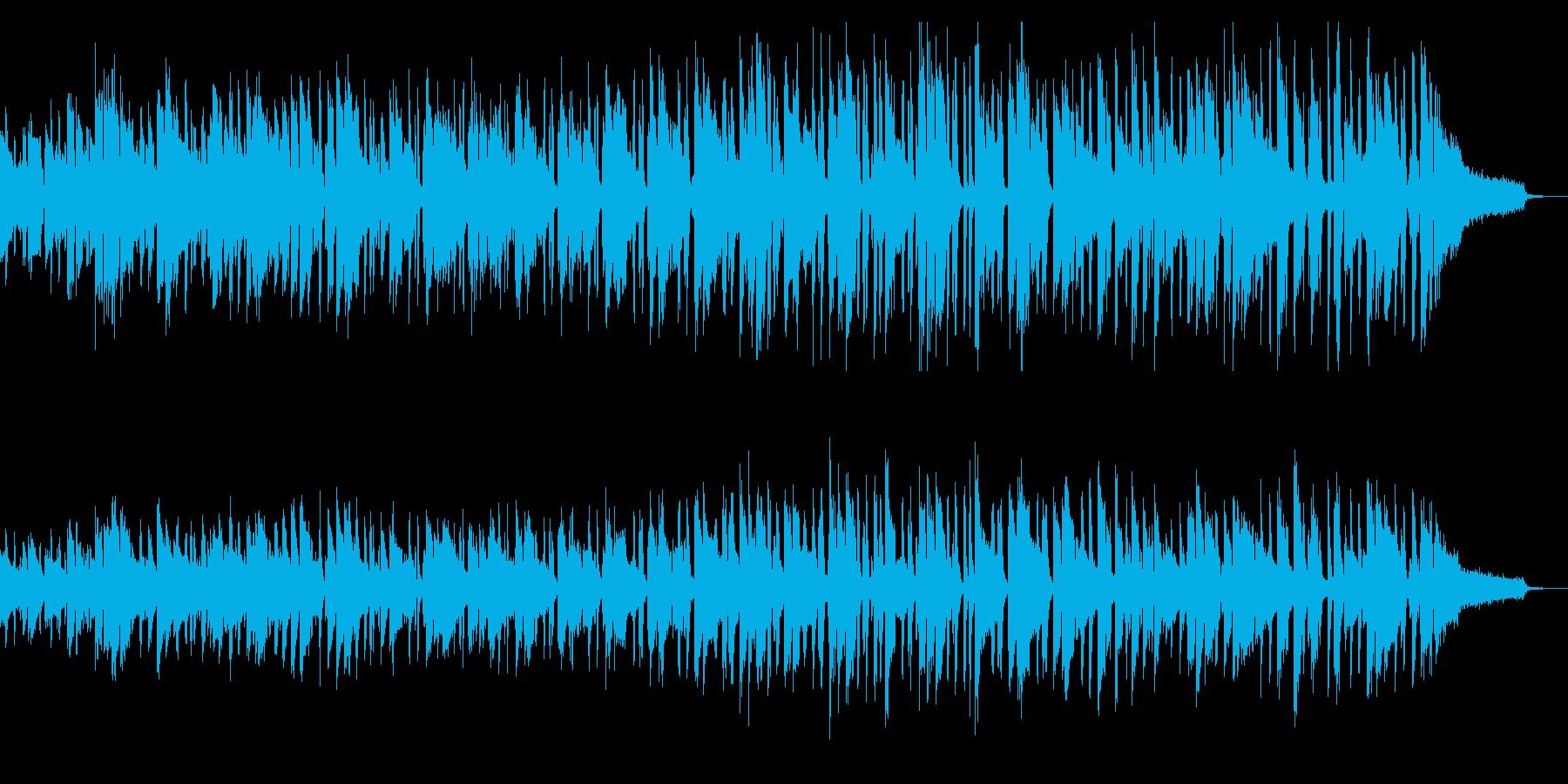 アップテンポで切ない系ファンクピアノソロの再生済みの波形