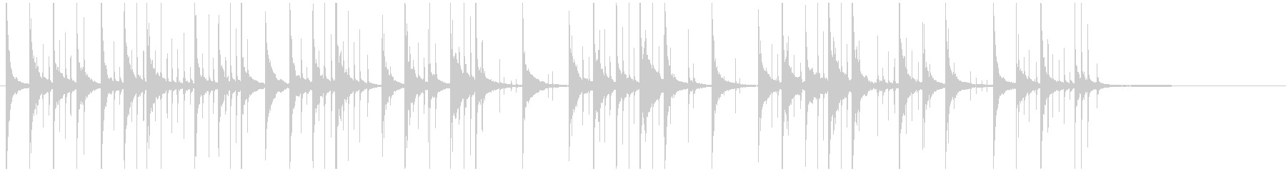 コミカルジングル パソコン関連ほのぼのの未再生の波形
