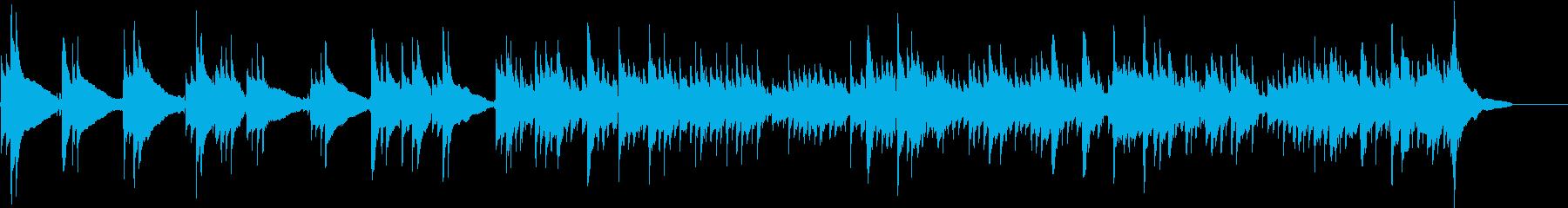 優しいアコースティックギター/PR動画の再生済みの波形