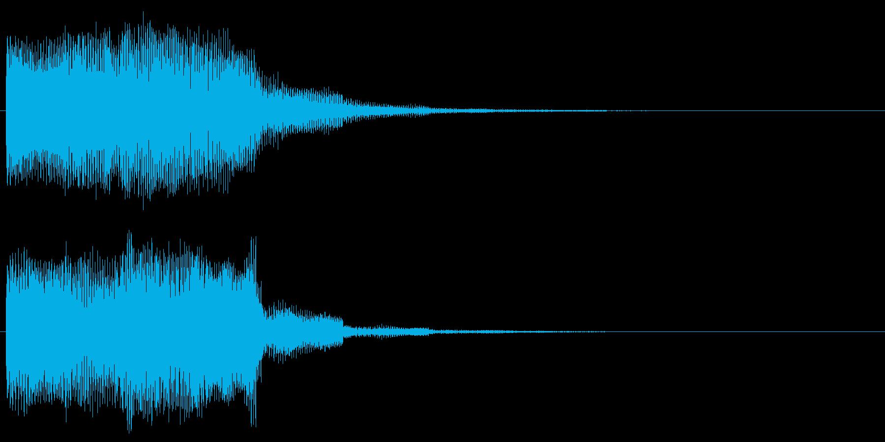 ゲームクリア 達成音 正解 やったーの再生済みの波形