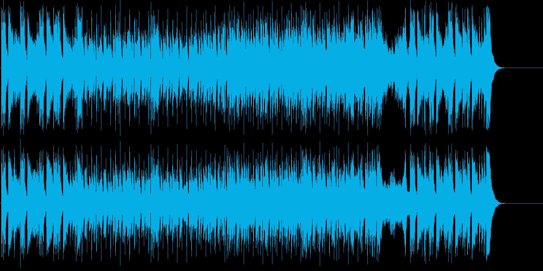 アダルトな趣きのオープニング・テーマ風の再生済みの波形