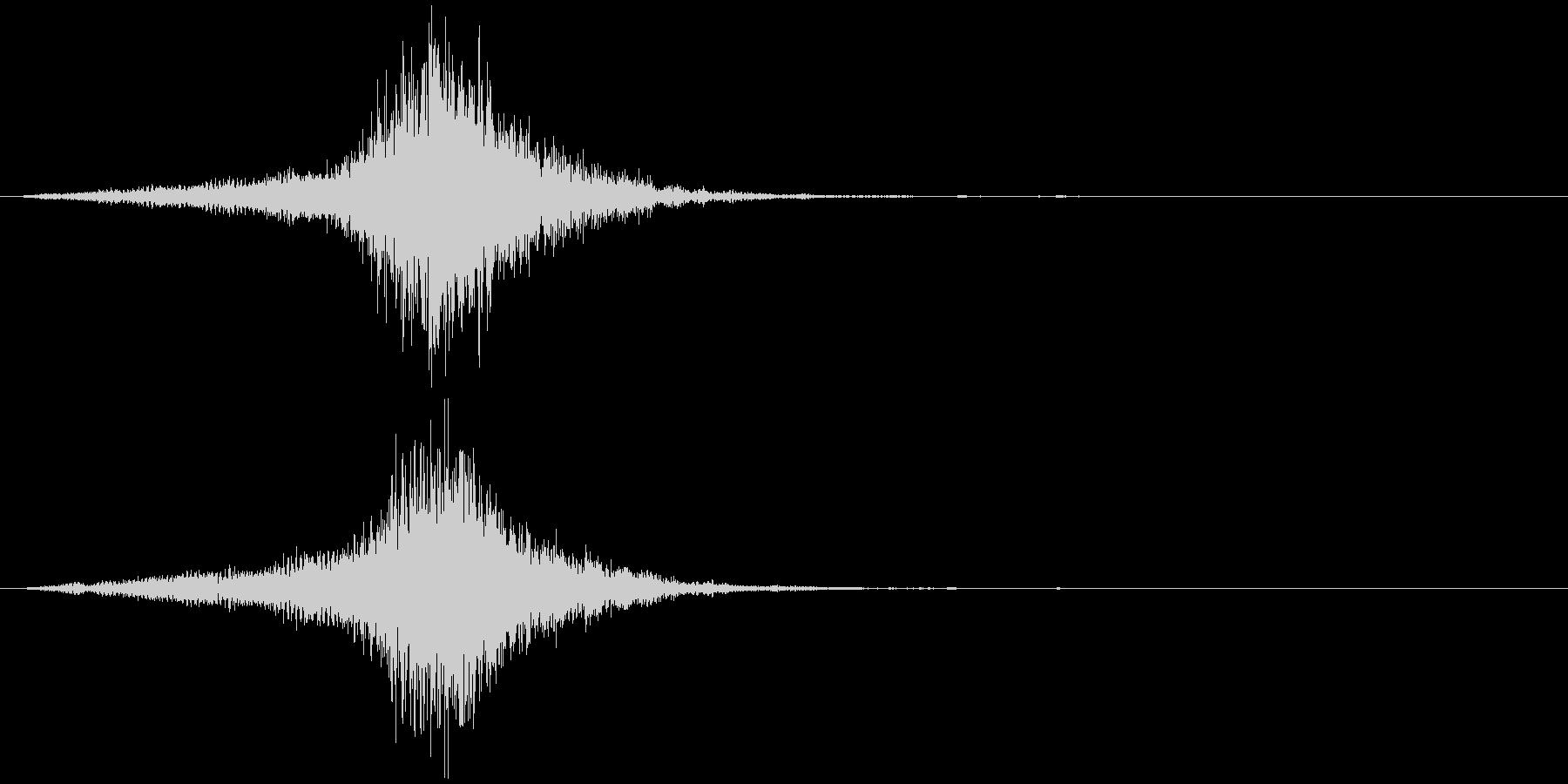 映画に合う効果音02の未再生の波形