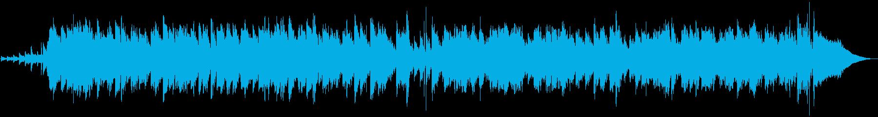 ゆるくて軽やかなシンプルジャズの再生済みの波形