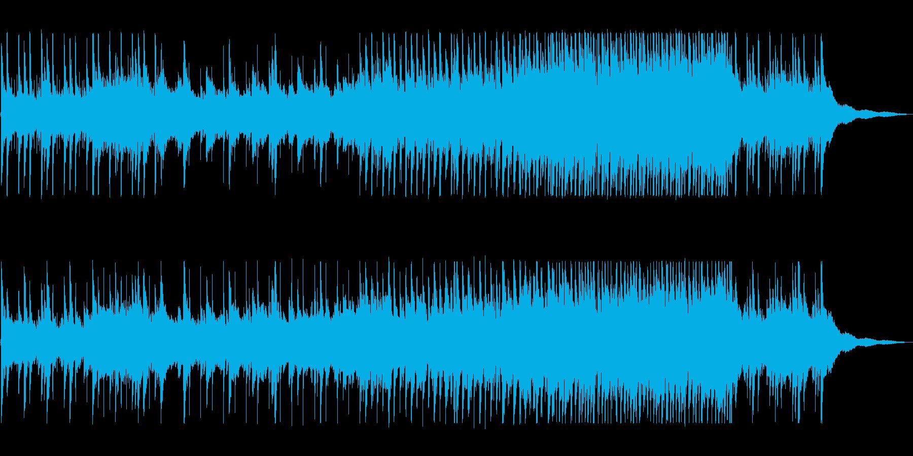 ハーモニカとピアノのまったり曲の再生済みの波形