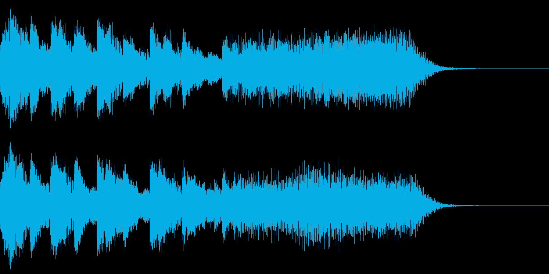 タラララタトタトタトタトター(場面転換)の再生済みの波形