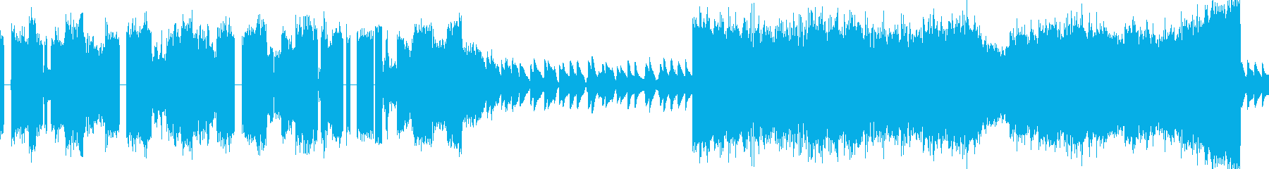 EDMで使われるカットアップされたシンセの再生済みの波形