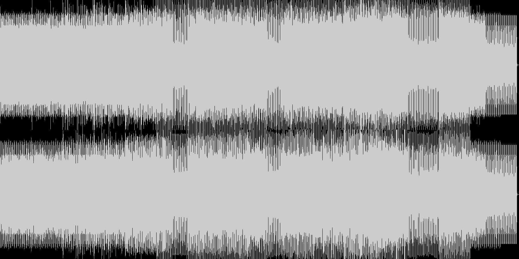 minimal house 20の未再生の波形