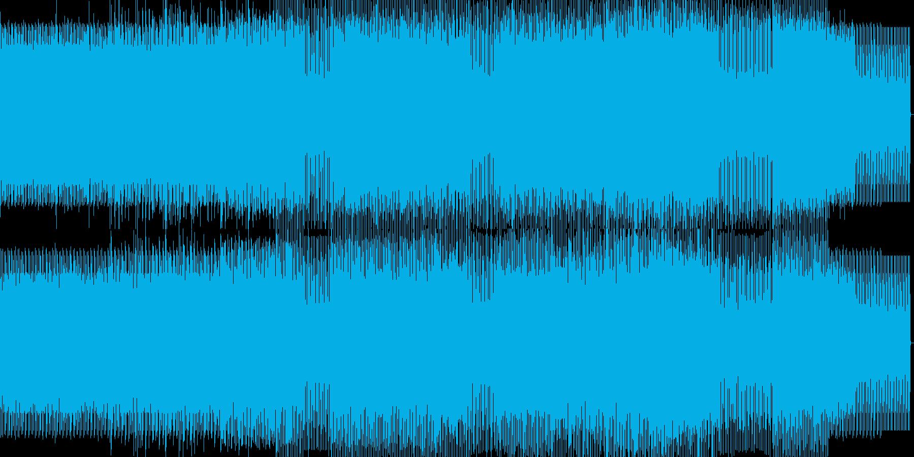 minimal house 20の再生済みの波形