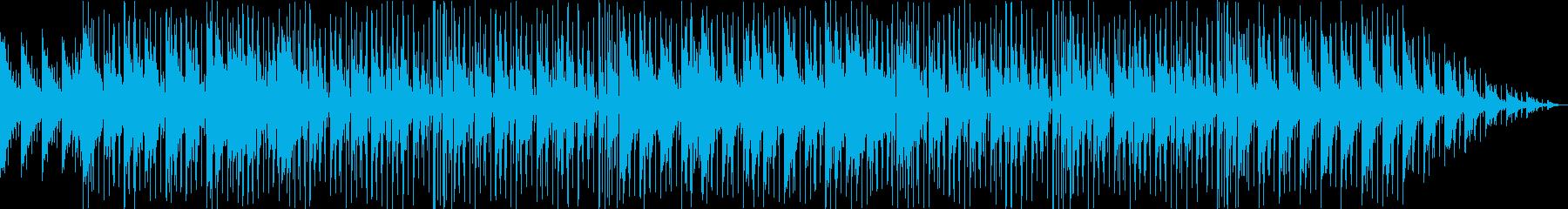 明るいシンセ・ギターなどポップサウンドの再生済みの波形