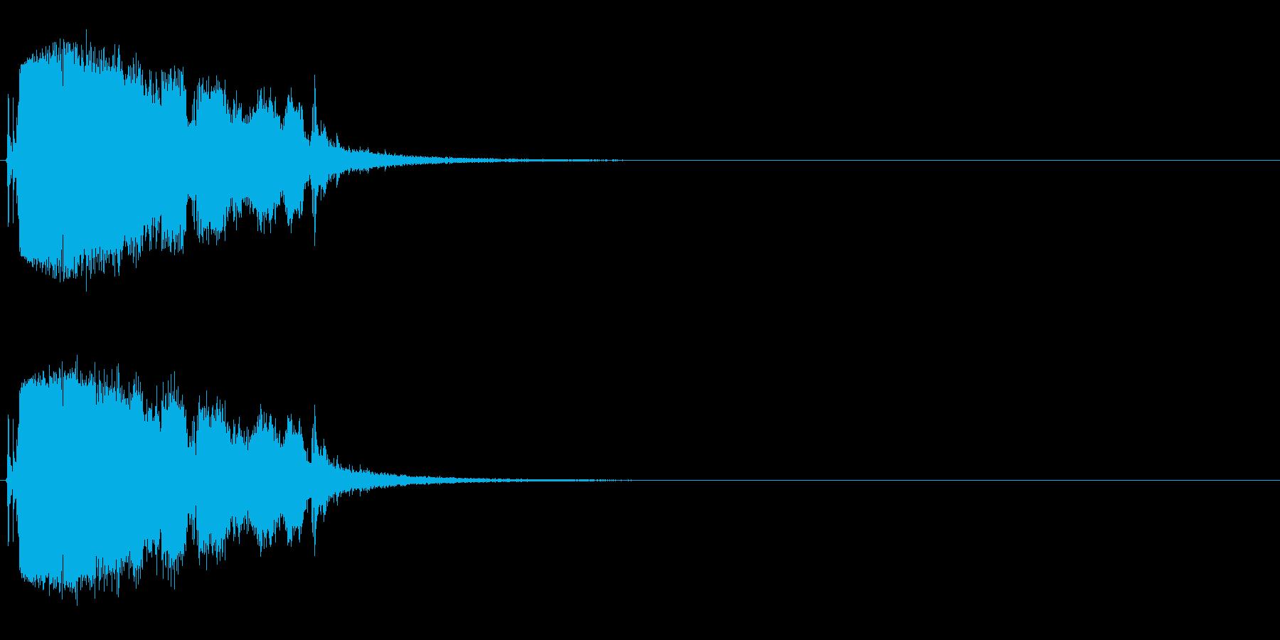ガラス割る (ガシャーンパリパリ)の再生済みの波形