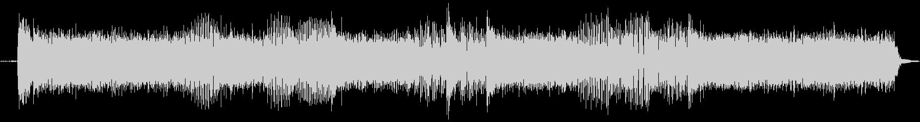 【エレキギター・リフ】ハードロック風の未再生の波形