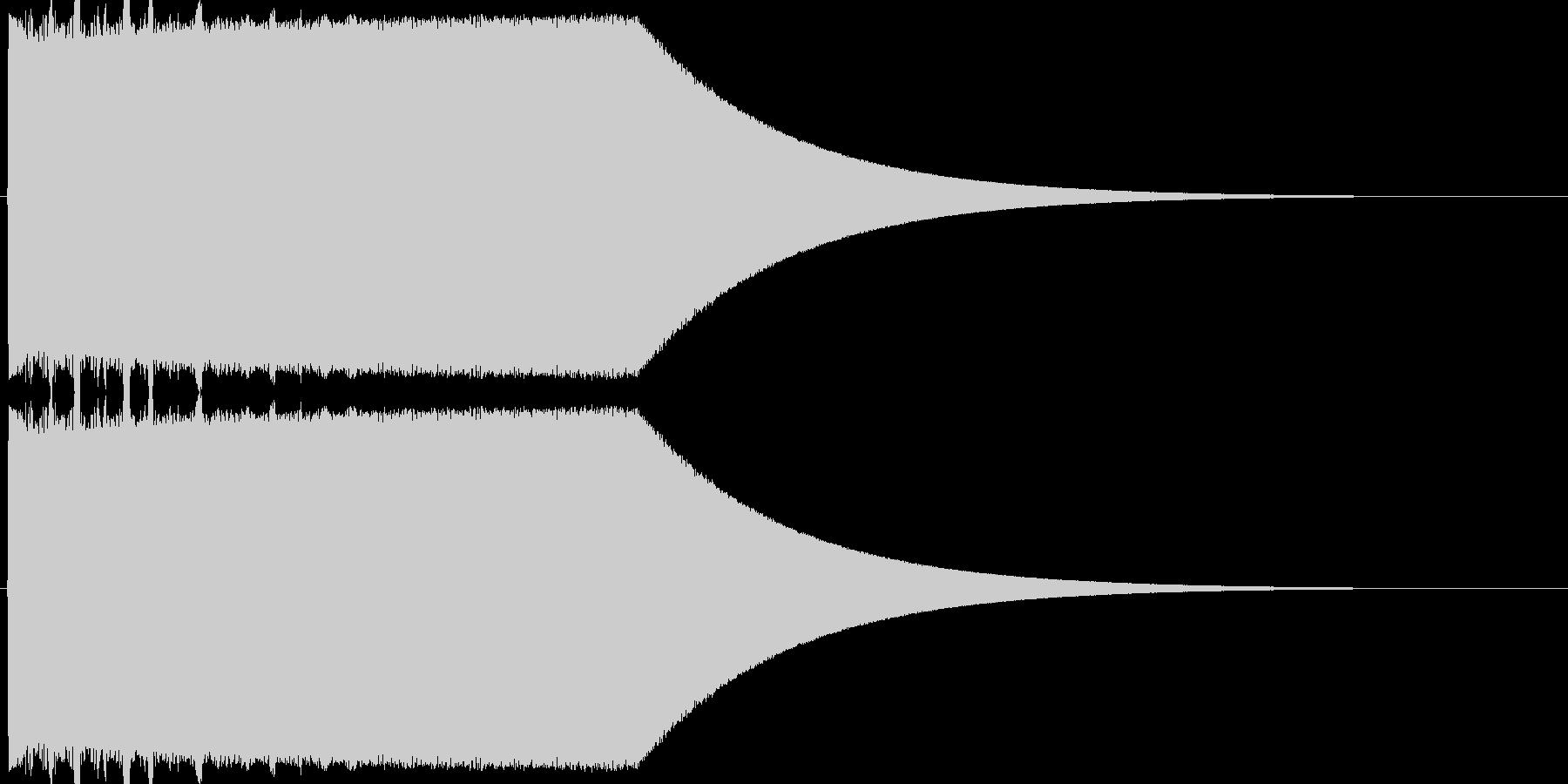 ギュオォォォォンの未再生の波形