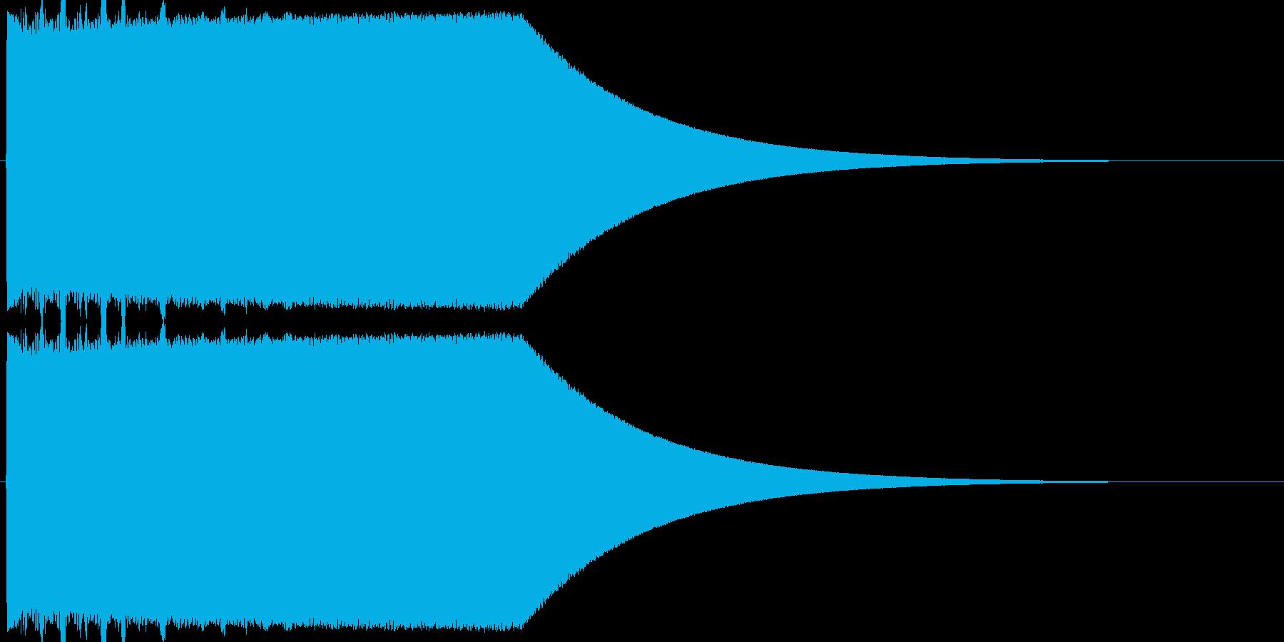 ギュオォォォォンの再生済みの波形