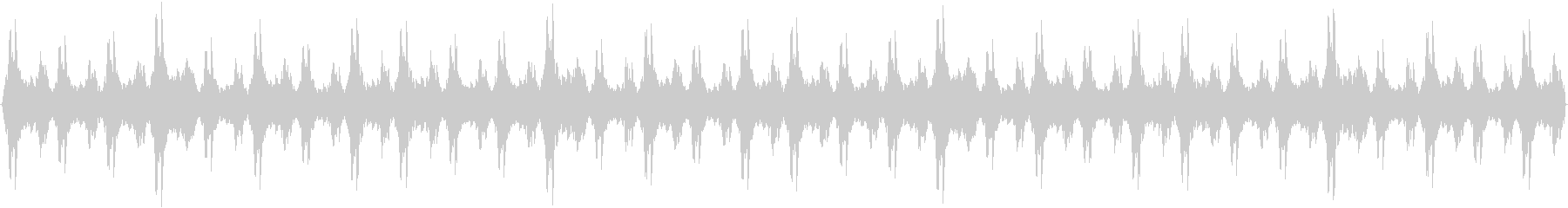クリスマス ベルの音の未再生の波形
