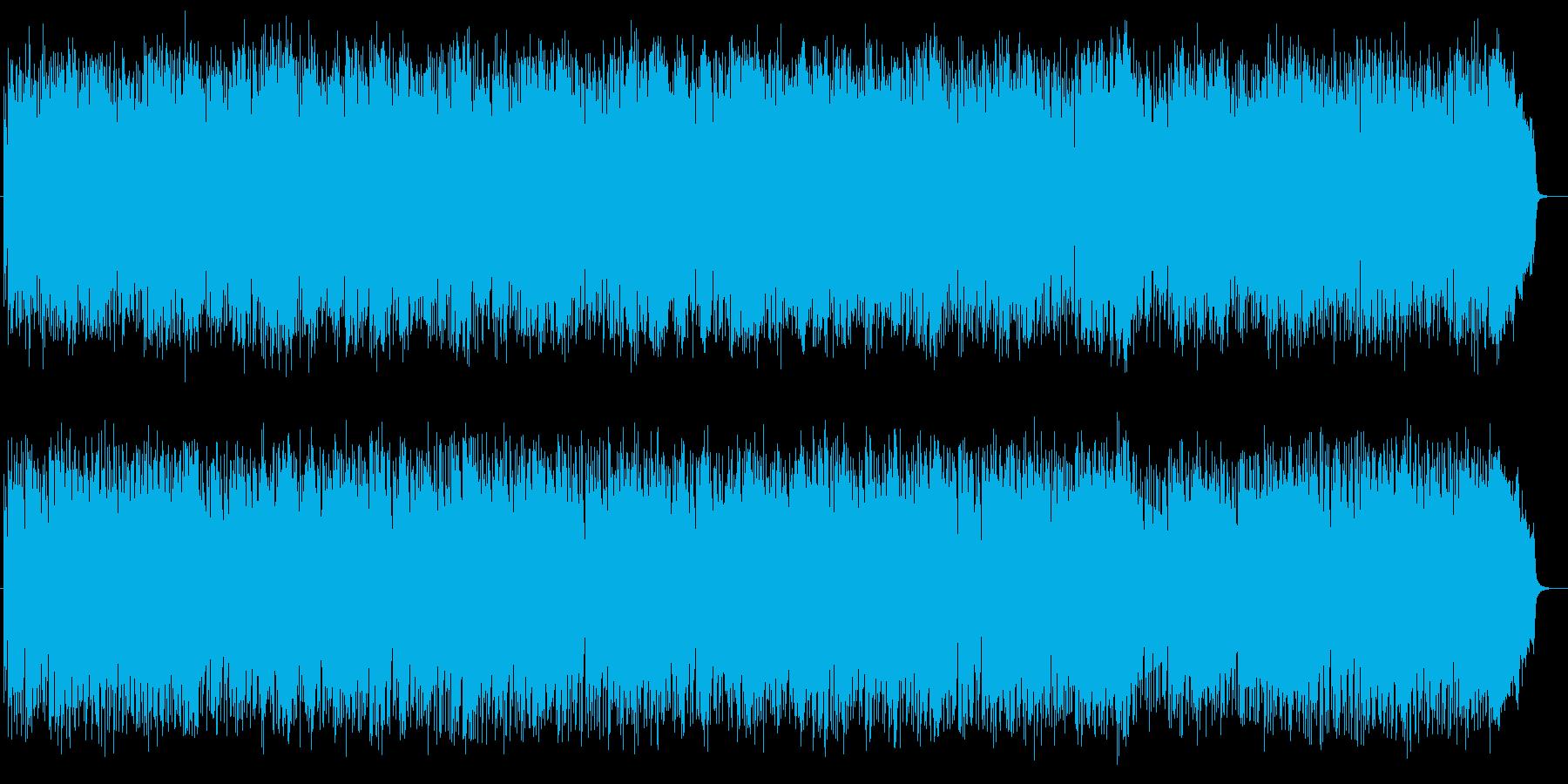 疾走感があるクールなミュージックの再生済みの波形